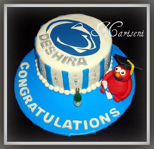 Penn State Graduation Cake