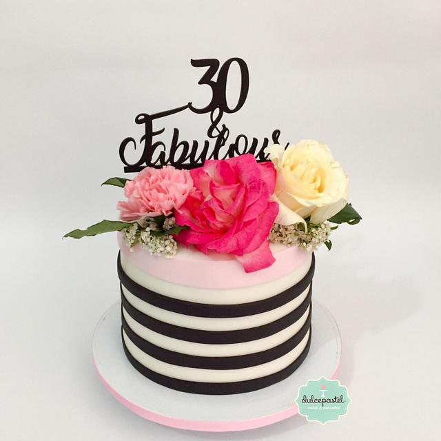 Torta Flores - Flowers Cake