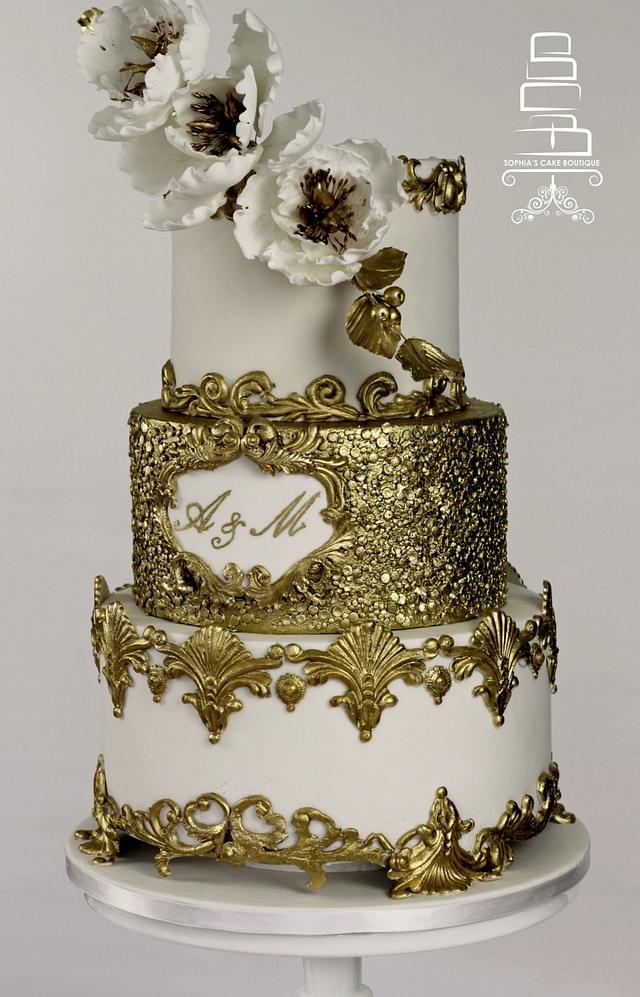 Gold Sequin Wedding