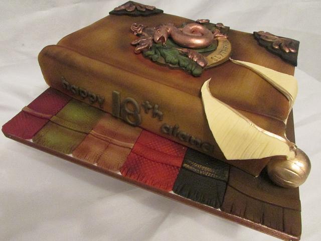 slitherin cake