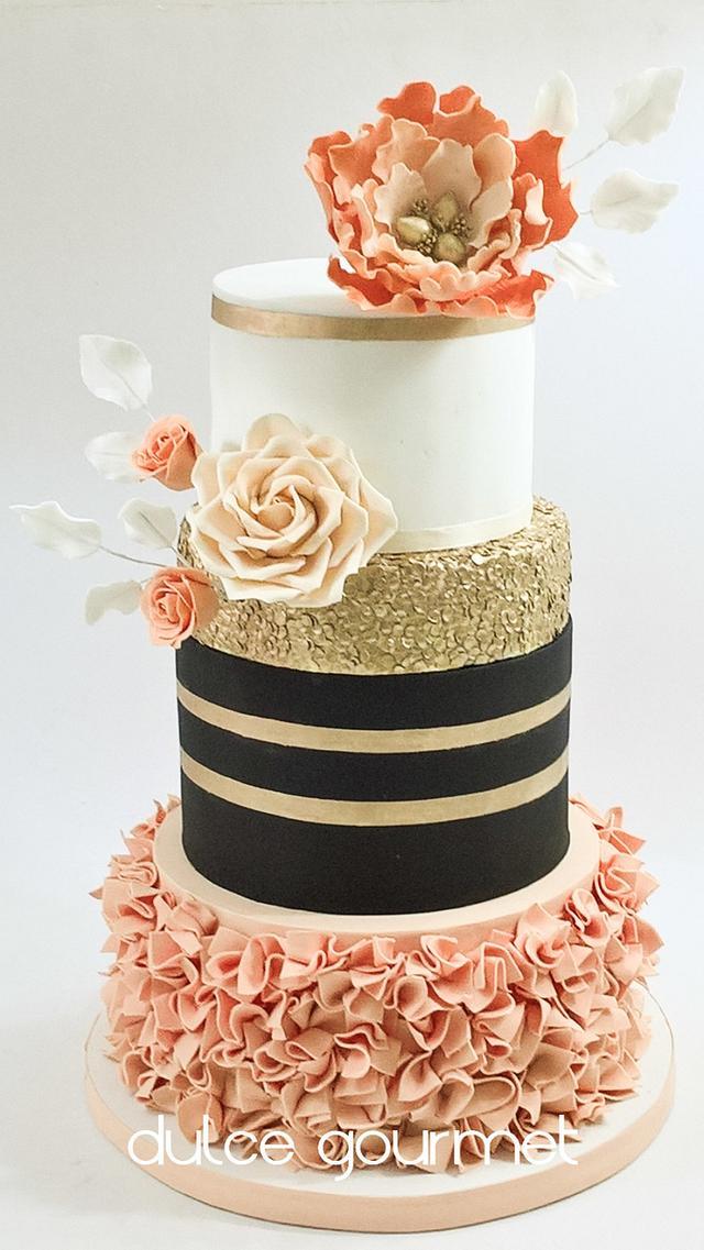 Marvelous Sweet 15Th Birthday Cake Cake By Silvia Caballero Cakesdecor Funny Birthday Cards Online Inifofree Goldxyz