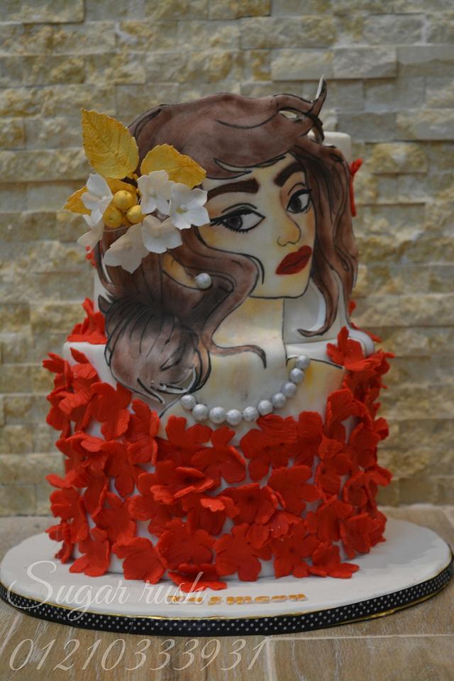 Painted Lady cake