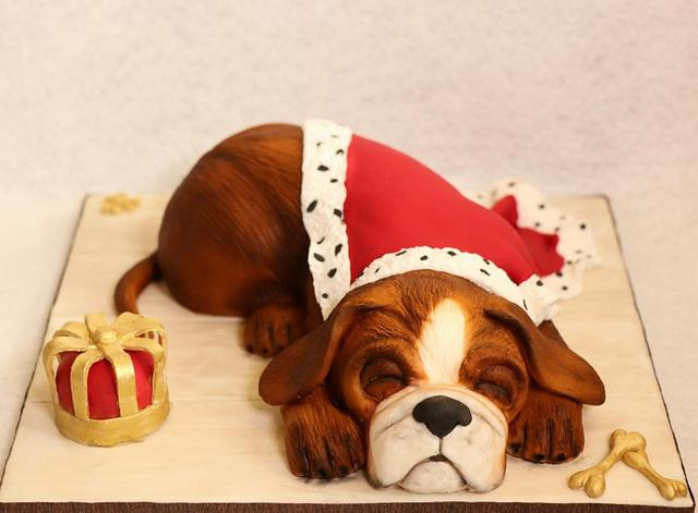 Royal sleeping dog