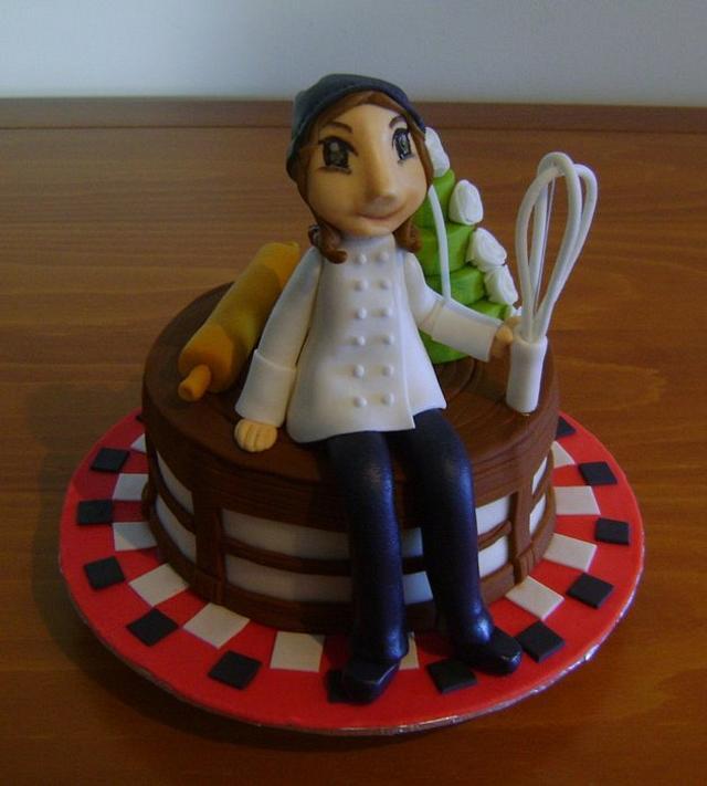 Pastry Chef cake