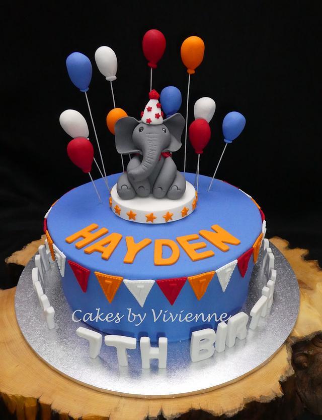 Strange Circus Themed Birthday Cake Cake By Cakes By Vivienne Cakesdecor Funny Birthday Cards Online Elaedamsfinfo