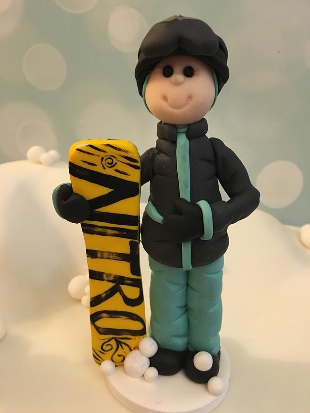 40th birthday snowboarding
