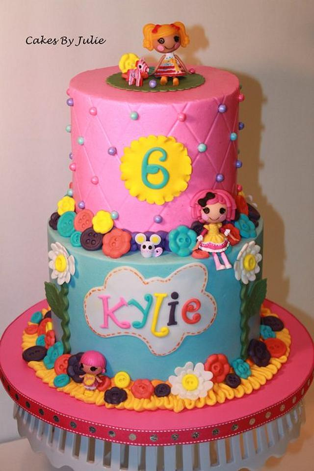 Astonishing Lalaloopsy Birthday Cake Cake By Cakes By Julie Cakesdecor Personalised Birthday Cards Rectzonderlifede