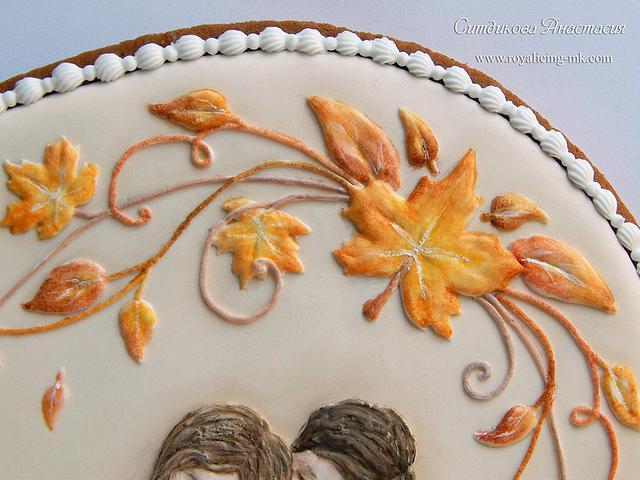 "Cookies ""Autumn Wedding"""