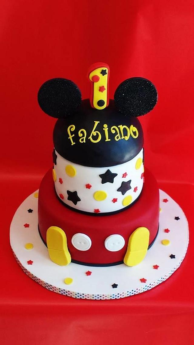 Mickey Mouse 1ST. BIRTHDAY