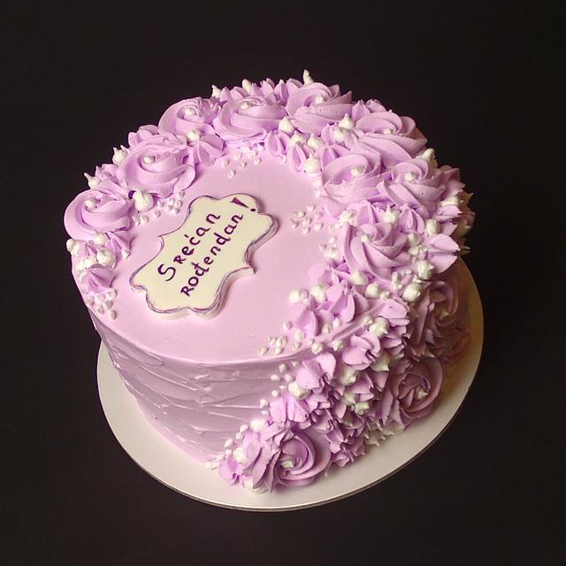 Violet rossettes