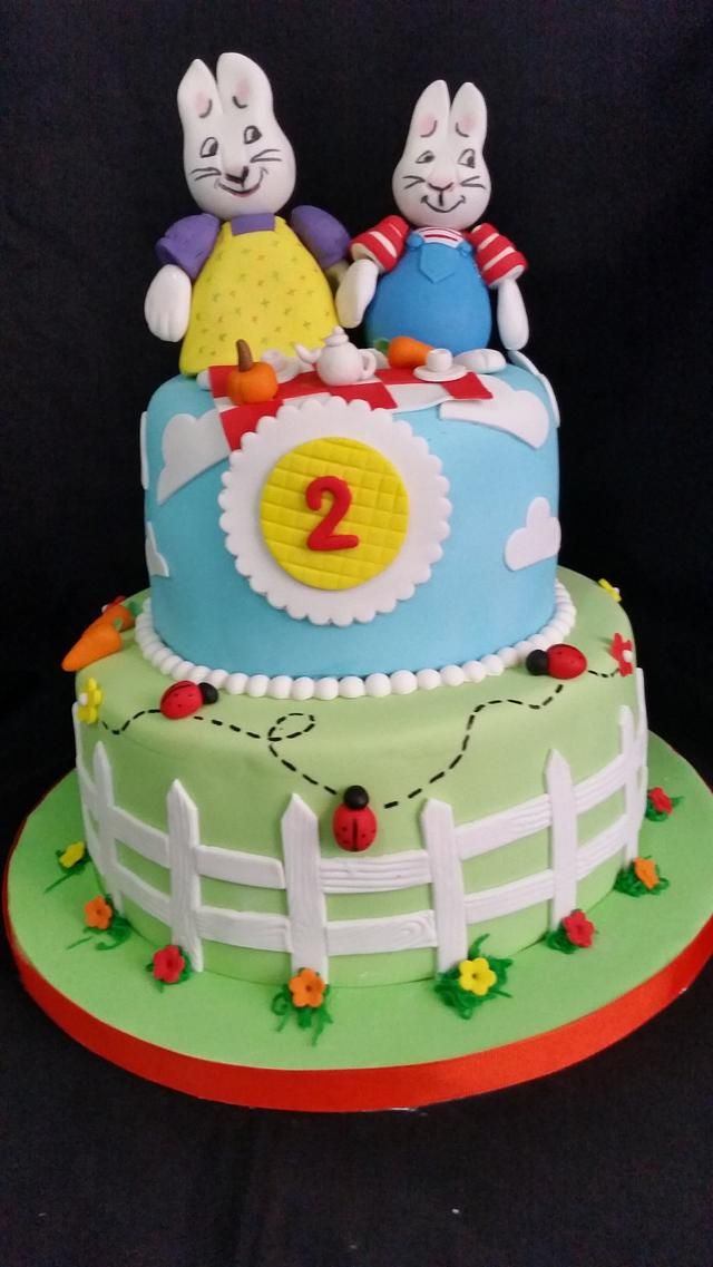 Max and Ruby cake!!!!