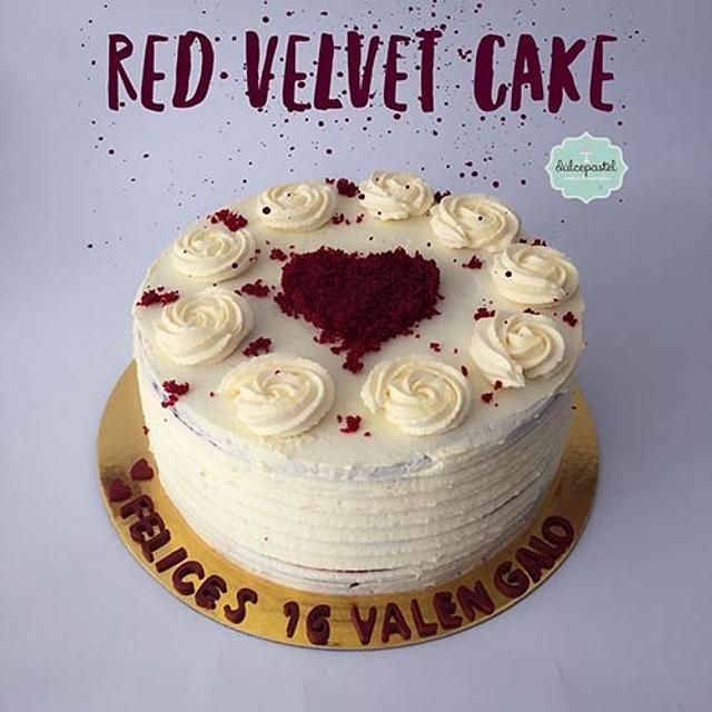Torta Red Velvet Medellín