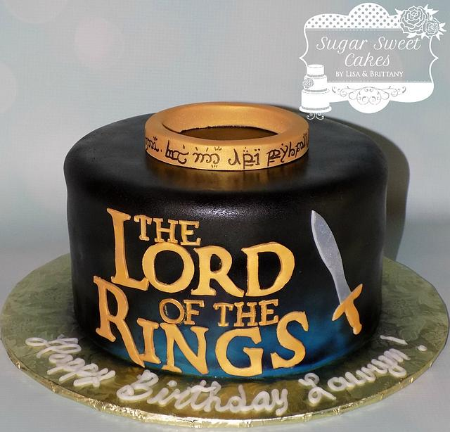 Groovy The Lord Of The Rings Cake By Sugar Sweet Cakes Cakesdecor Birthday Cards Printable Giouspongecafe Filternl