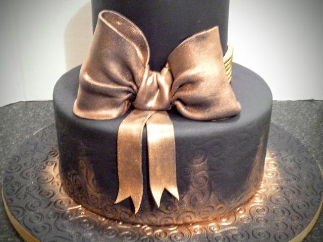 Black and Gold 21st