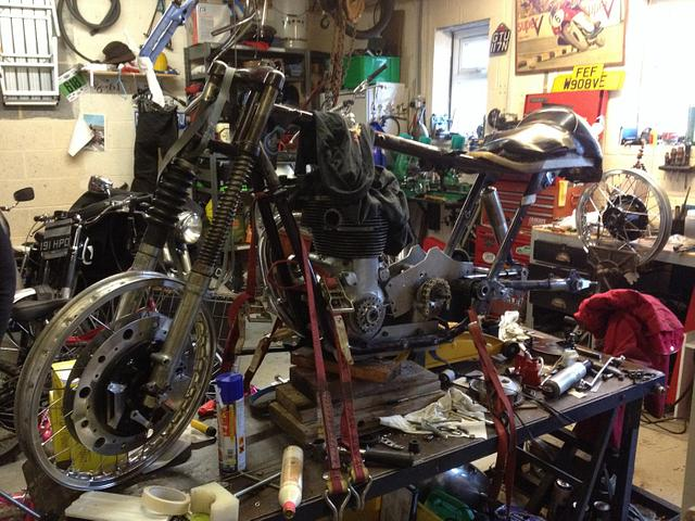 Building a motorbike