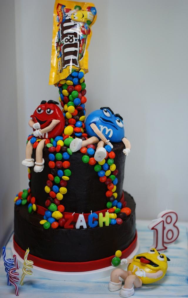 Super Mm Birthday Cake By Margie Cakesdecor Funny Birthday Cards Online Hendilapandamsfinfo
