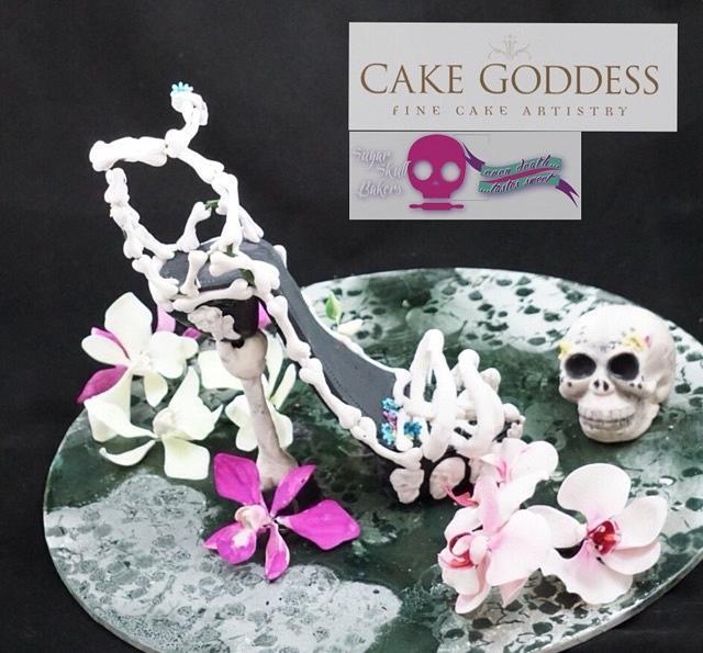 Sugar skull bakers Merryn holder