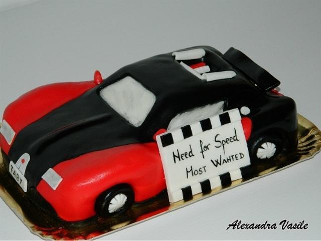 Bugatti Veyron cake