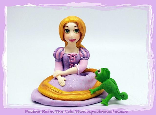 "Tangled Rapunzel ""The Girl With The Golden Hair"" & Pascal!"