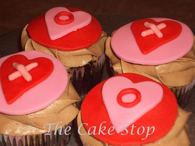 Valentine cupcakes!