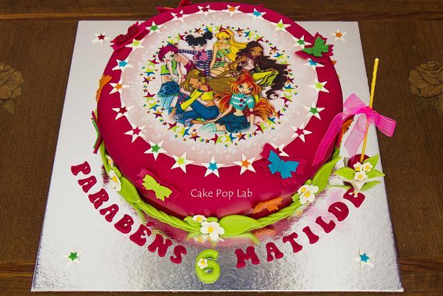 Winx Fairy cake