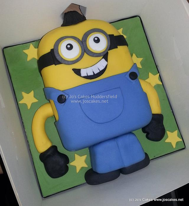 Pleasant Minion From Despicable Me Birthday Cake Cake By Jos Cakesdecor Funny Birthday Cards Online Inifofree Goldxyz