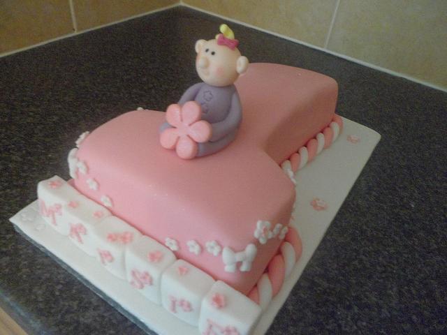 Number 1 Girly Cake