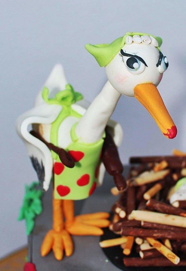 Celebrating storks
