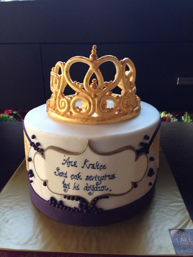Fantastic Queen Birthday Cake Cake By Cake Lounge Cakesdecor Funny Birthday Cards Online Alyptdamsfinfo