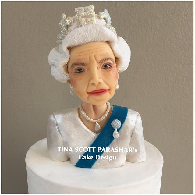 Cake for the Queen - 90th birthday