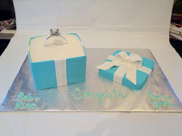 Tiffany Ring Box