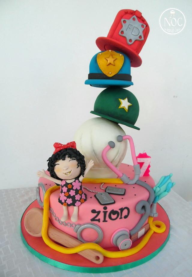 Professions Cake