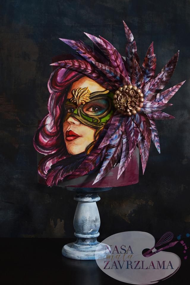 Mardi Gras Carnival Cakers Collaborations 2018