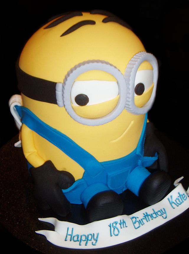 Cheeky Little Minion Birthday Cake