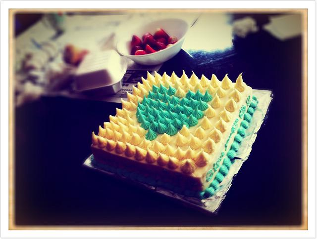 BLUE HOPE OF LIFE ! NOT SPECIAL CAKE JUST MEANINGFUL...