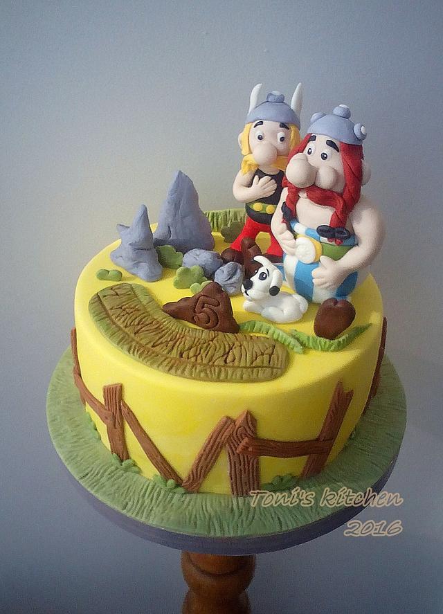 Asterix and Obelix :)