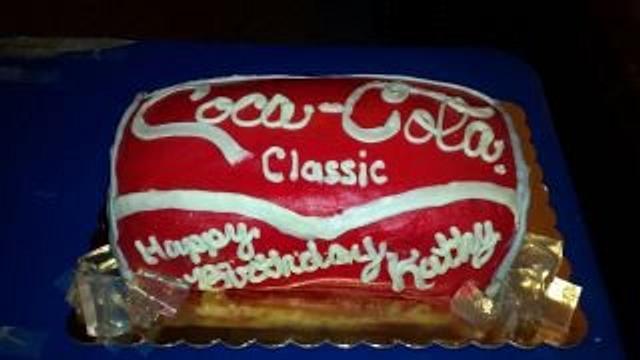 Outstanding Coca Cola Classic Birthday Cake Cake By Christa Cakesdecor Funny Birthday Cards Online Necthendildamsfinfo