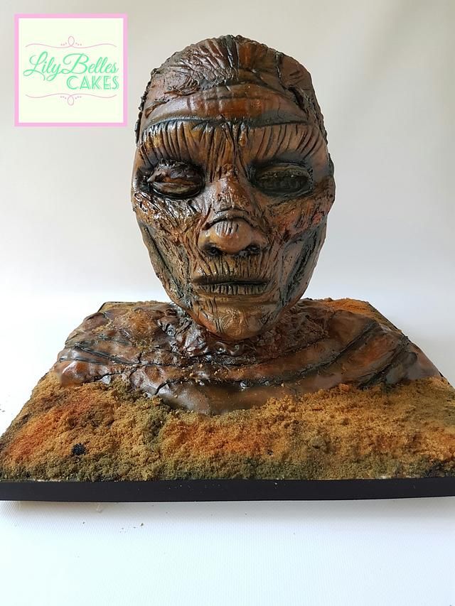 The Mummy. Cakenstiens Monsters collaboration