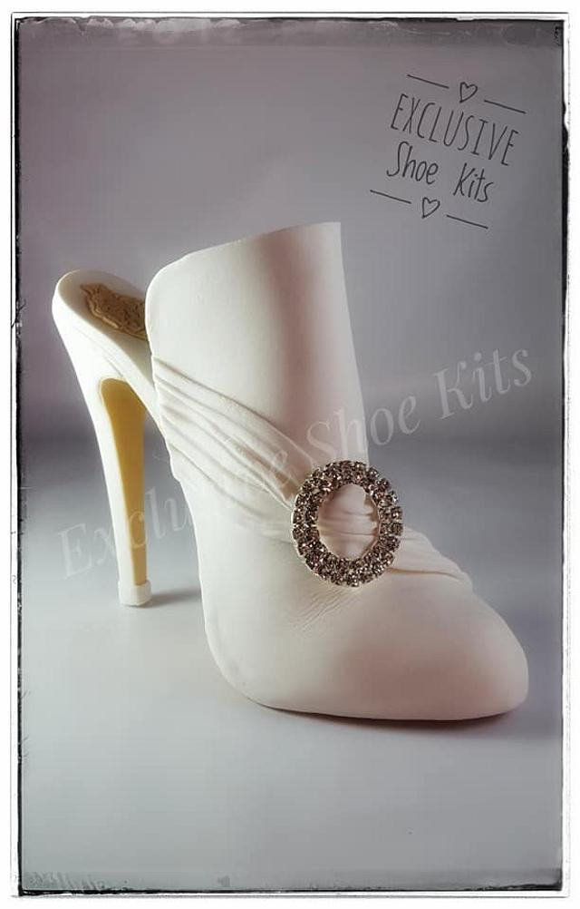 Classic Victorian style Fondant shoe