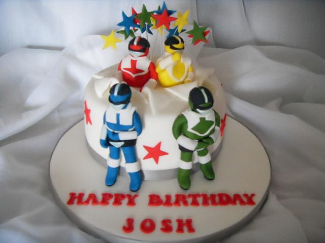Stupendous Power Rangers Birthday Cake Cake By Christine Cakesdecor Birthday Cards Printable Opercafe Filternl