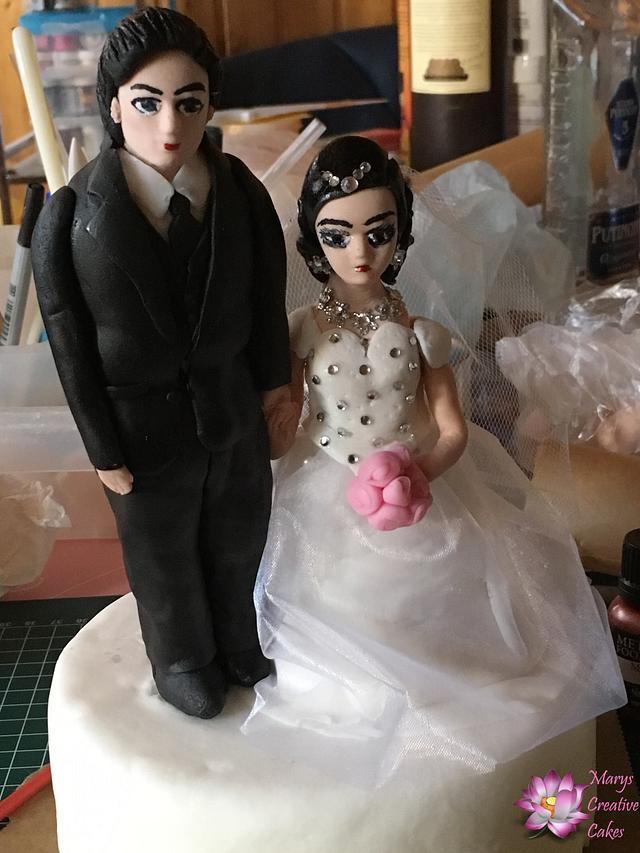 3D Wedding Cake topper