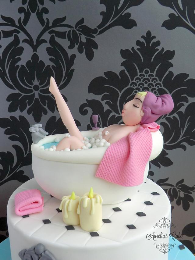 Pamper Bath Cake