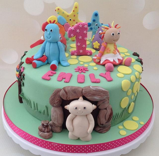 In The Night Garden 1st Birthday cake