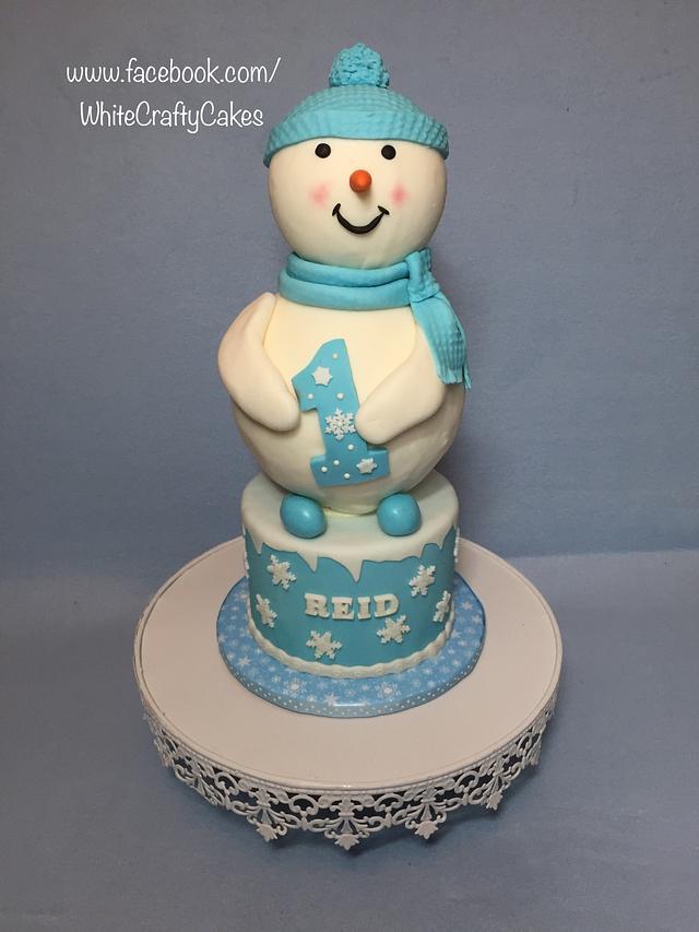 Reid's Winter ONEderland first birthday