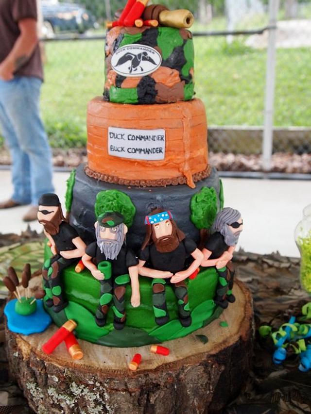 Tremendous Duck Dynasty 8Th Birthday Cake Cake By Heather Britton Cakesdecor Personalised Birthday Cards Veneteletsinfo