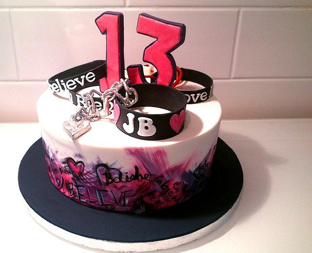 Amazing Justin Bieber Birthday Cake Cake By Danielle Lainton Cakesdecor Funny Birthday Cards Online Elaedamsfinfo