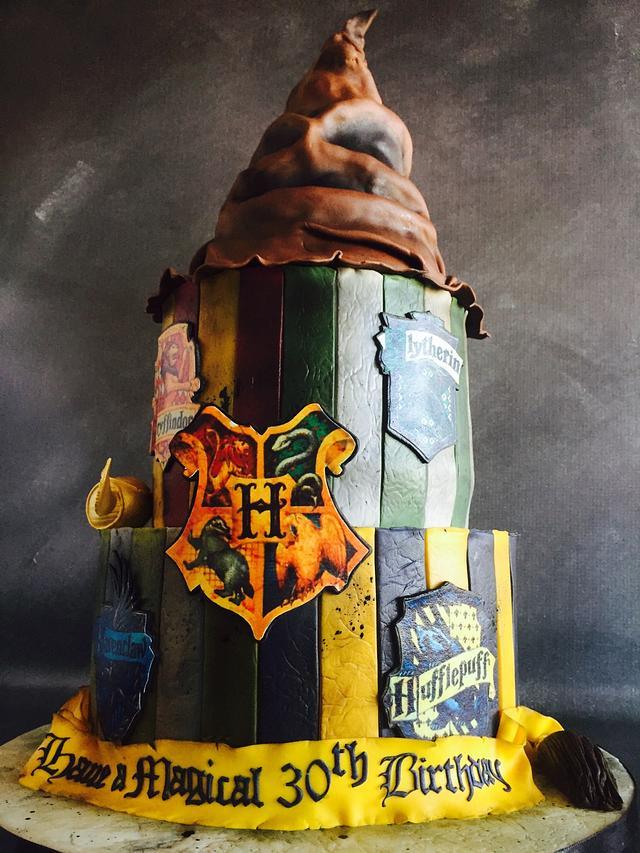 Hogwarts Birthday Cake