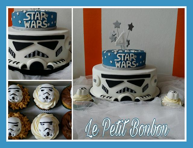 Star Wars - Cake and cupcakes