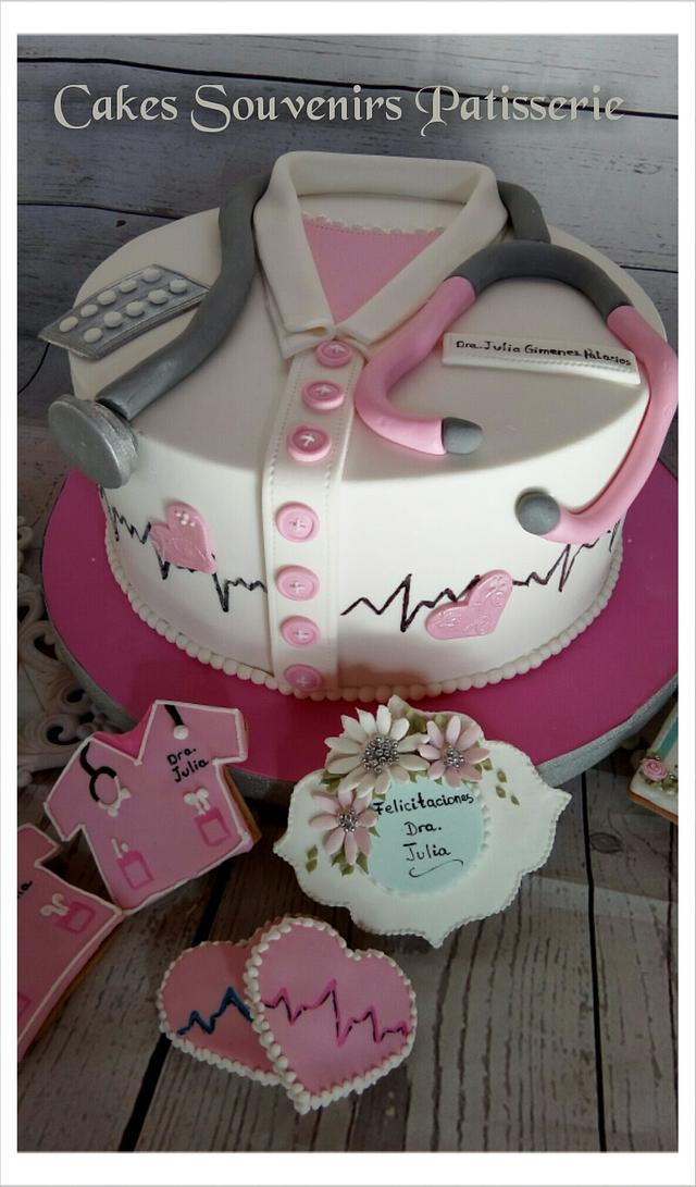 Cake for a doctor