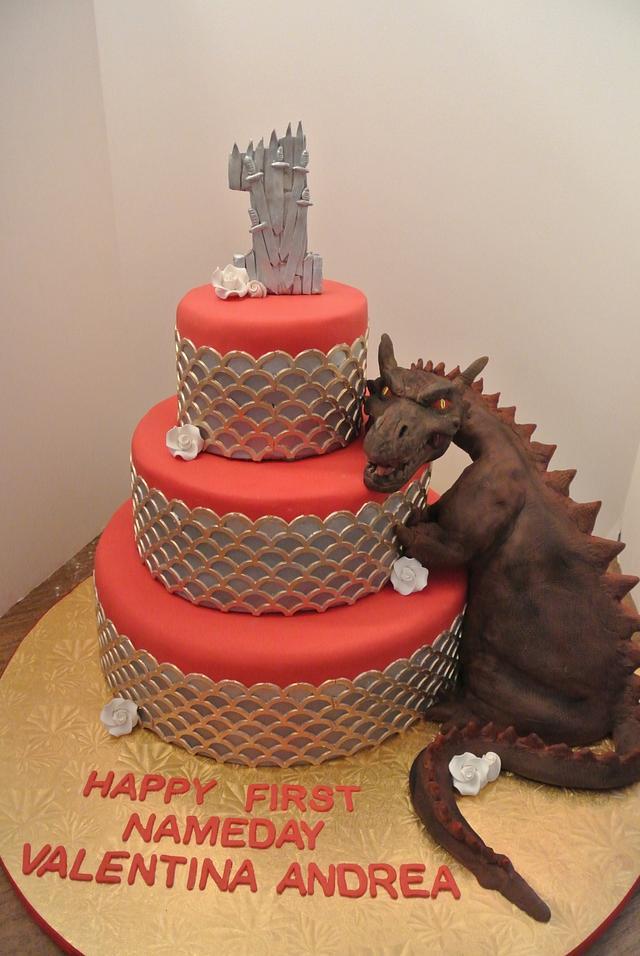 GOT Birthday Cake